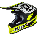 Kask Just1J32 PRO RAVE NEON YELLOW-BLACK